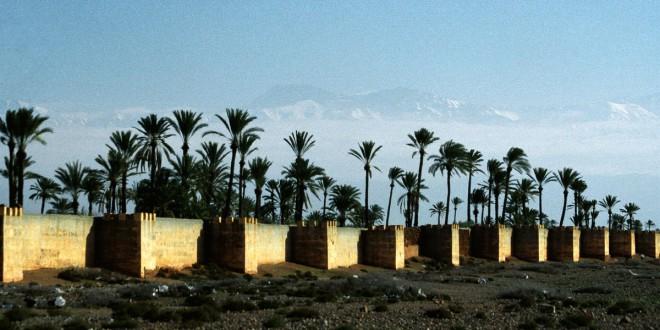 Marrakesch Stadtmauer