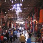 Durch die Souks von Marrakesch